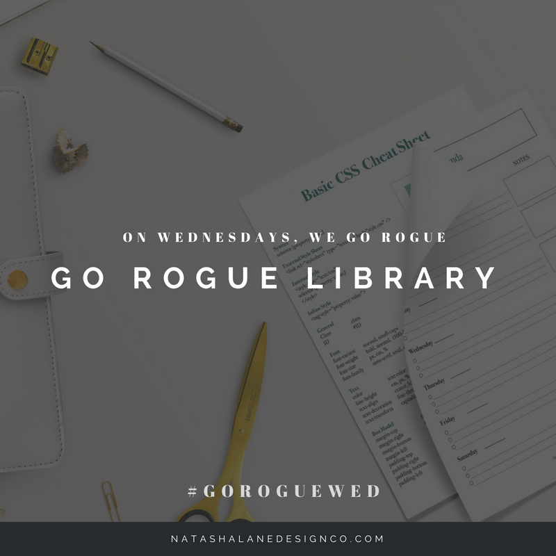 Go Rogue Library