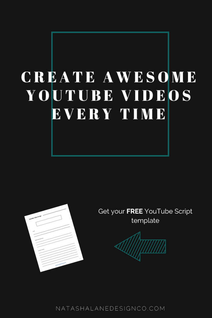 YouTube Video Script Template